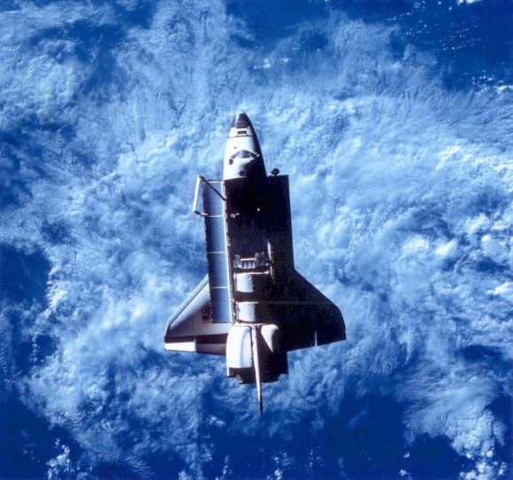 Challenger in Orbit