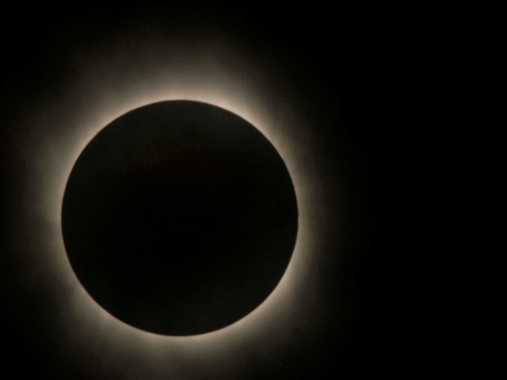 Solar Eclipse as seen by Hinode Satellite