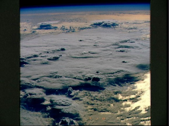 Thunderstorms, Indian Ocean