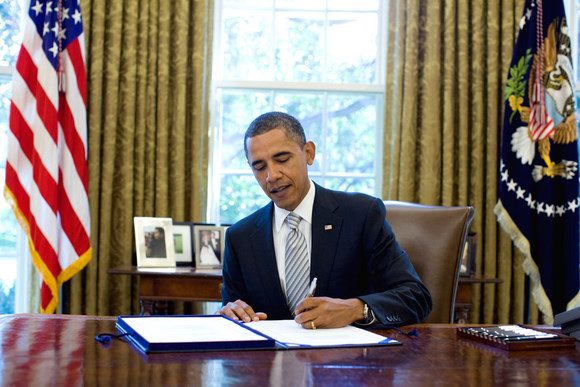 President signs nasa 2010 authorization act - When is obama going to be out of office ...