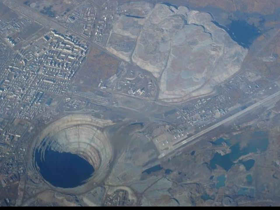 Biggest FBB in the World http://www.universetoday.com/81980/deepest-hole-in-the-world/
