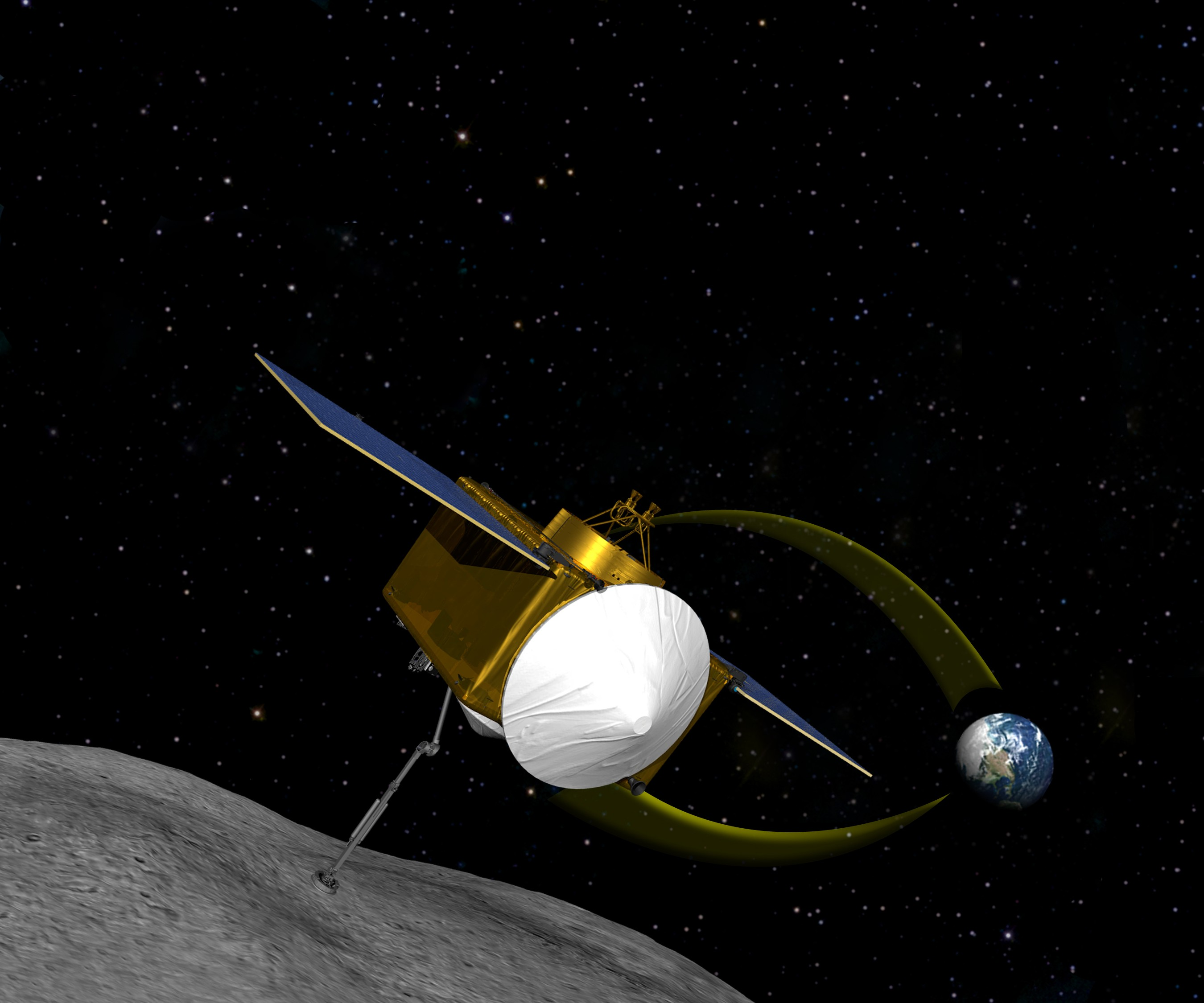 Us First Space Probe : Nasa selects osiris rex as first us asteroid sampling mission