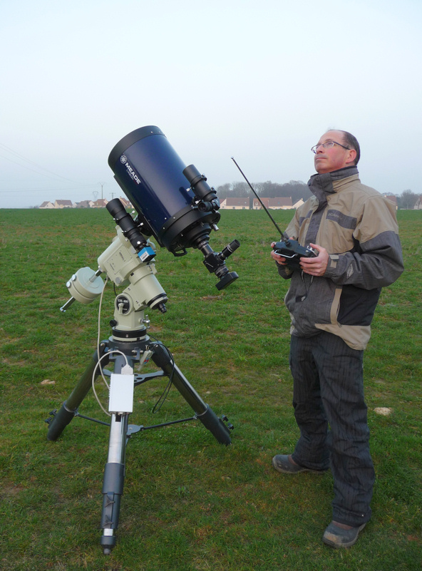 Spying On Spy Satellites With Thierry Legault