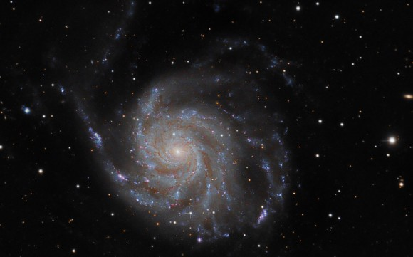 Astrophoto: Supernova PTF11kly in M101 by Rick Johnson