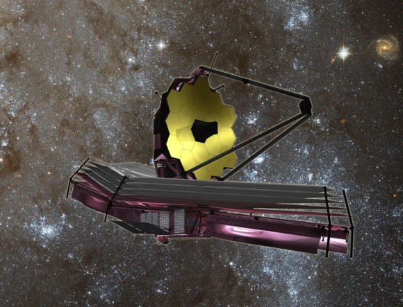 The James Webb Space Telescope. Credit: NASA