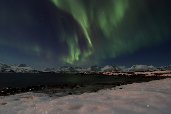 Astrophoto: Aurora Borealis above Norway by Orvill Aakra