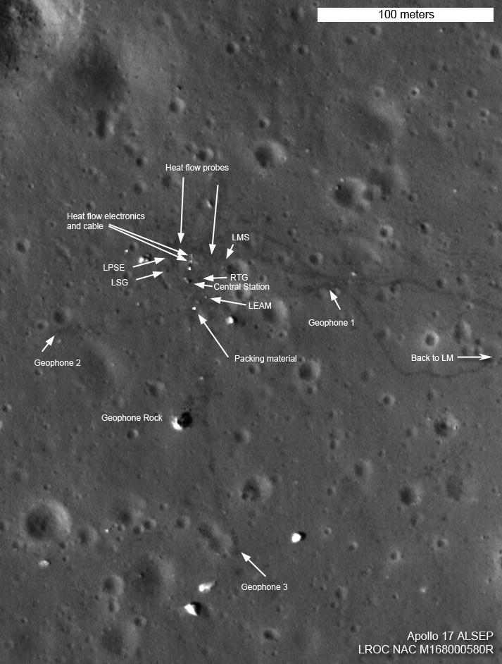 moon landing sites - photo #24