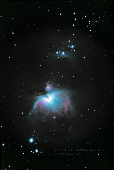The Great Orion Nebula by Patrick Cullis
