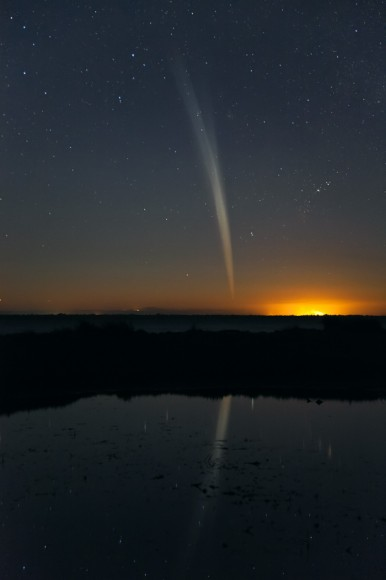 Comet Lovejoy by Colin Legg