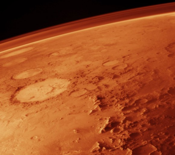 The idea that Mars could have supported life at one time is the subject of ongoing debate. Image credit: NASA
