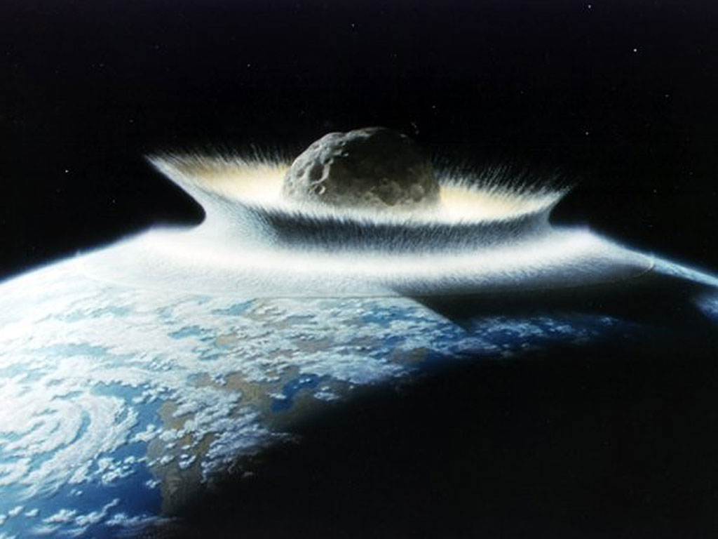 recent asteroid meteor hitting earth - photo #25
