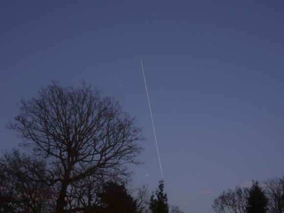 ISS Fly Over by Darren Griffin