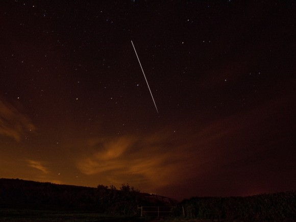 ISS taken from the Isle Of Wight, UK by Ian Parker
