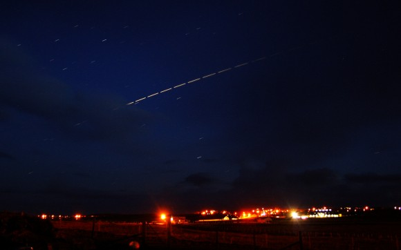 ISS taken from Isle of Lewis, Outer Hebrides by John Gray
