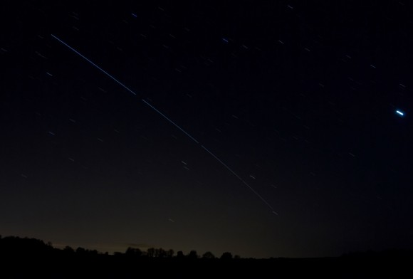 ISS from Fife, Scotland by Corinne Mills