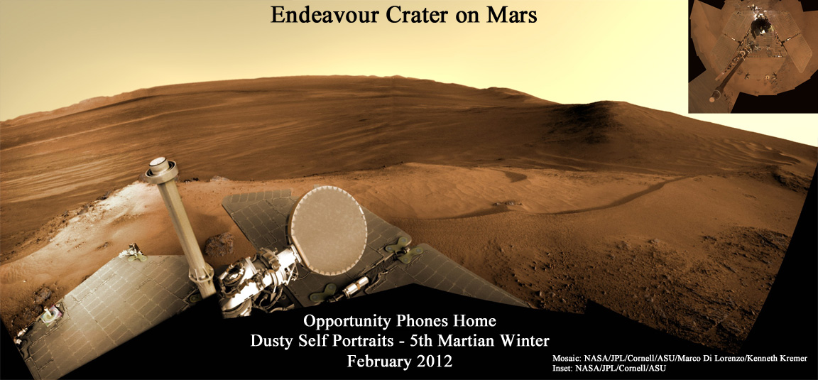 mars rover opportunity current location - photo #17