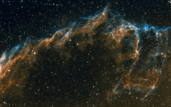Astrophoto: The Veil Nebula by Nick Howes