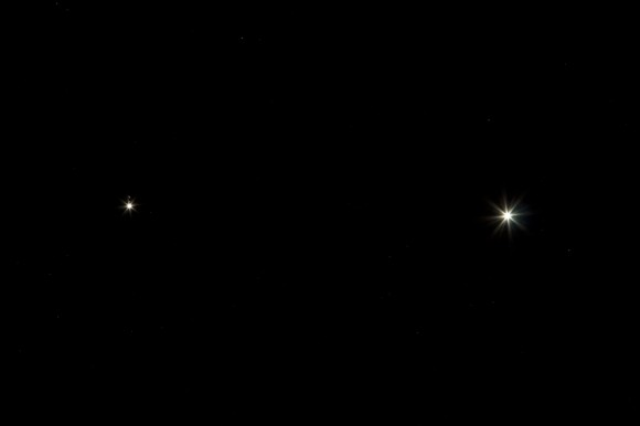 Astrophotos: Venus and Jupiter Conjunction