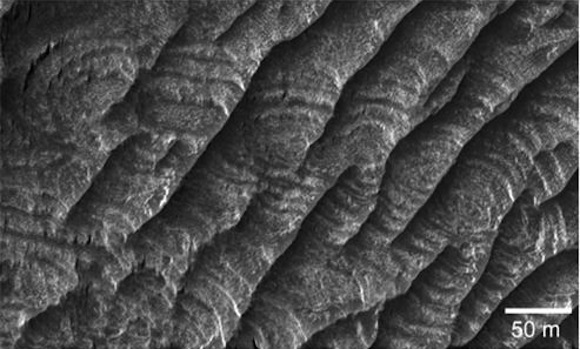You ll only see this landform on mars nowhere earth
