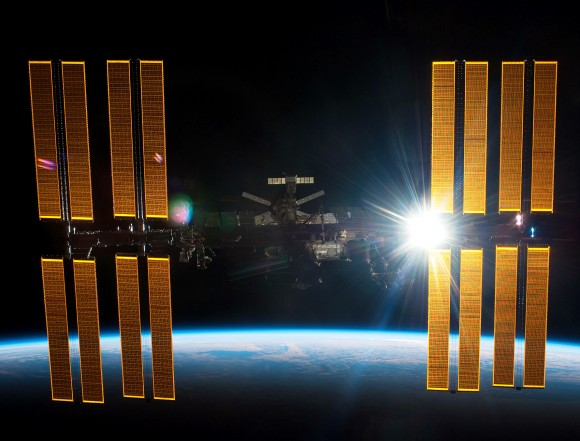 A view of the International Space Station. Credit: NASA
