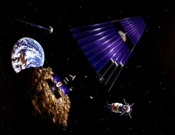 Planetary Resources Group Wants to Mine Asteroids