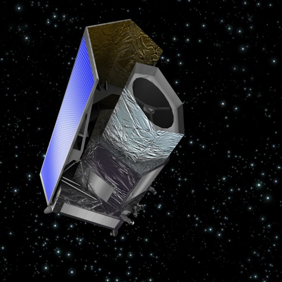 Artists impression of Euclid Credit: ESA/C. Carreau