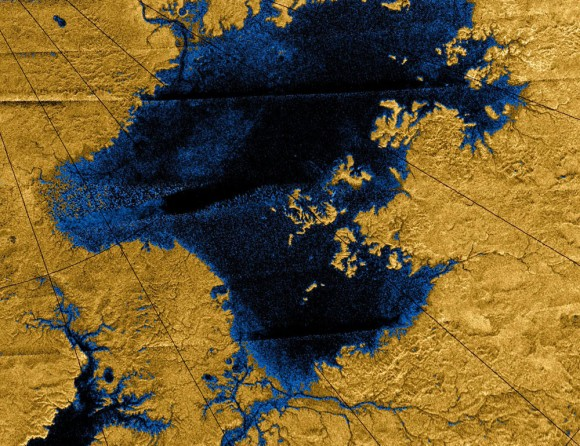 Images-from-the-Cassini-mission-show-river-networks-draining-into-lakes-in-Titans-north-polar-region-Image-NASA-JPL-USGS