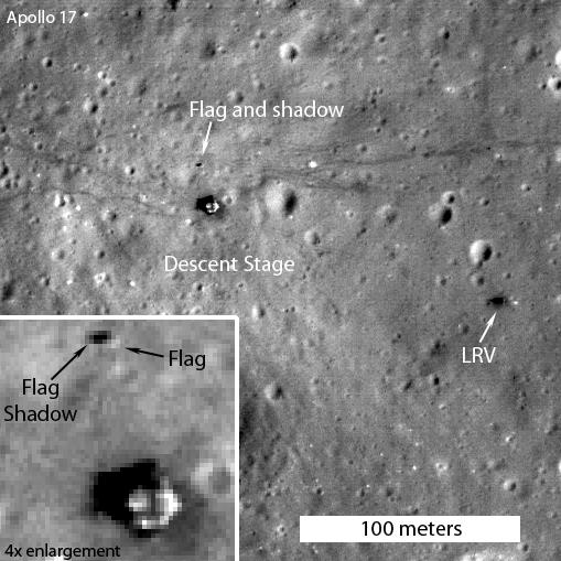 moon landing sites - photo #13
