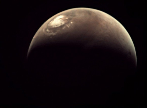 Image of Mars from Mars Express. Credit: ESA