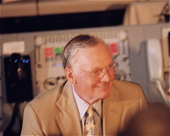 Neil Armstrong at KSC 1