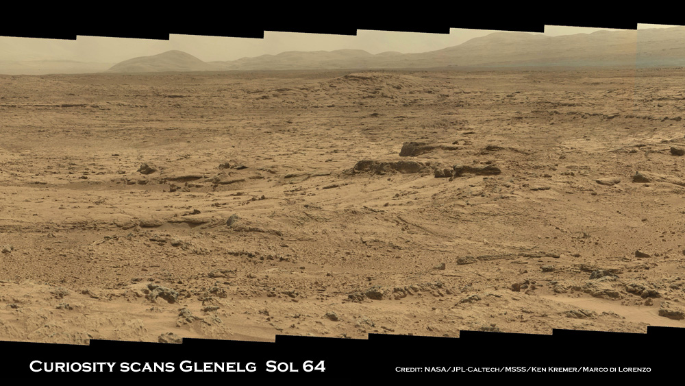 Curiosity Sol 64 Glenelg Rocknest Pano Crop 1 Ken Kremer