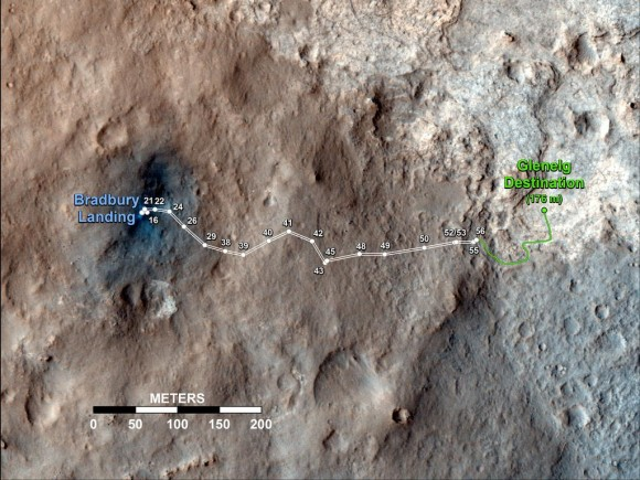 Sol 56 map