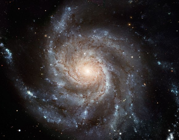 Messier 101 from NASA's Hubble Space Telescope