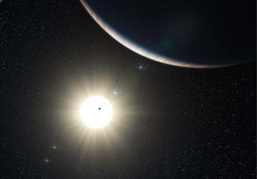 Distant-solar-system-goes-ours-one-better jpgOther Solar Systems In Our Universe