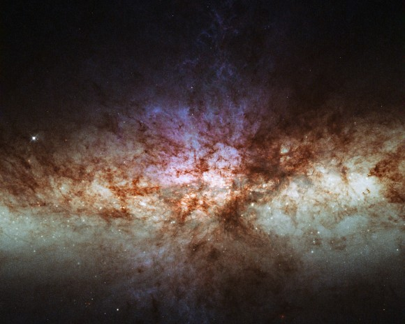 Feel The Beat: Black Hole's Pulse Reveals Its Mysterious Size