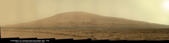 Curiosity at John Klein Sol170fa_Ken Kremer
