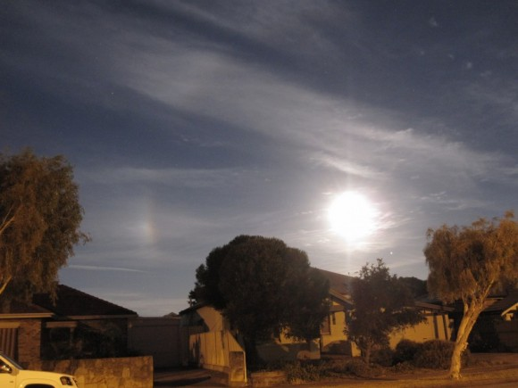 A Moondog seen in Adelaide, Australia on November 28, 2012. Credit: Ian Musgrave.