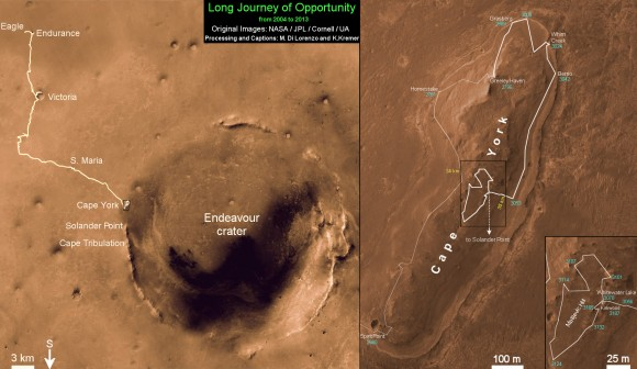Opportunity Route map_3187s_Ken Kremer