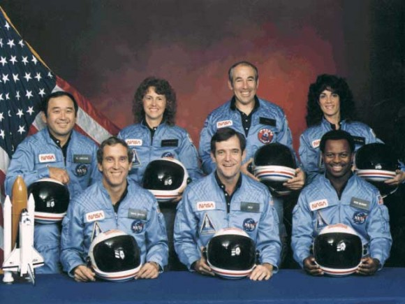 The crew of Challenger, lost on January 28, 1986. Credit: NASA.