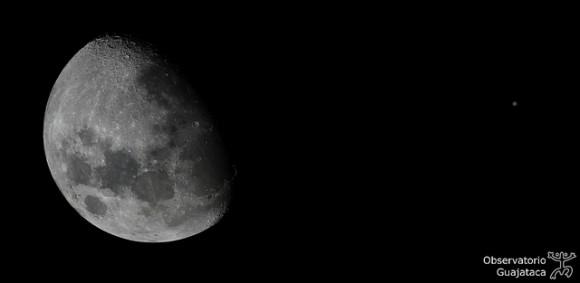 Moon & Jupiter Conjunction,