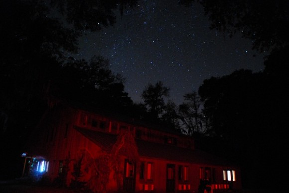 Dark Skies at Dunham Farms, Georgia (Photo by Author).