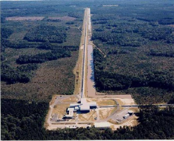Arial view of LIGO Livingston. (Image credit: The LIGO Scientific Collaboration).