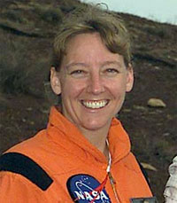 Amy Ross is an advanced space suit designer at NASA's Johnson Space Center. Image Credit: NASA.