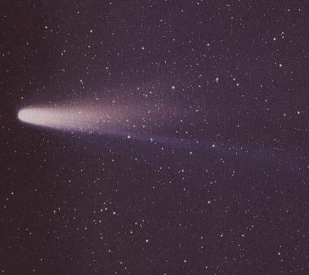 Halley's Comet in 1986. Credit: NASA