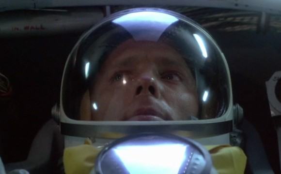 Actor Ed Harris portrayed astronaut John Glenn in The Right Stuff, a 1983 movie following the beginning of the NASA astronaut program. Credit: The Ladd Co. (screenshot)