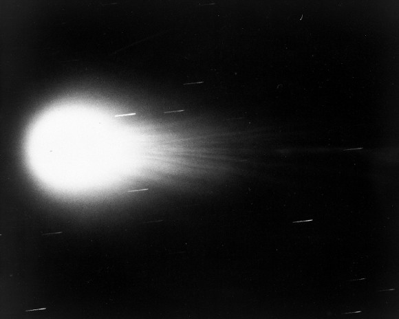 Comet Kohoutek in 1973. Credit: NASA/University of Arizona