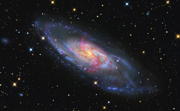 Messier 106 Courtesy of R. Jay GaBany