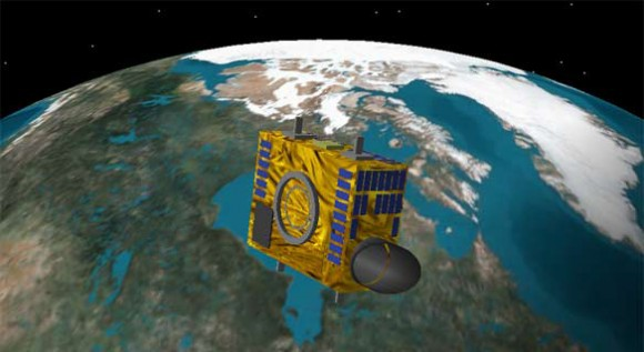 The Canadian asteroid-hunting NEOSSAT is among the fleet of satellites preparing for flight. Credit: Canadian Space Agency