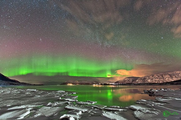 Aurora seen in Roksøy, Norway. March 2013. Credit and copyright: Frank Olsen.