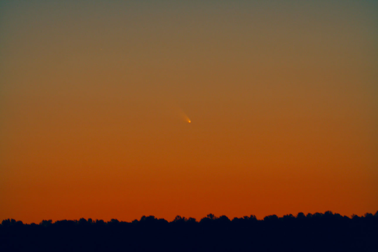 Comet PANSTARRS as seen from Arizona on March 10, 2013. Credit and ...
